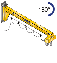 Wall Mounted Jib Crane Assistant Style