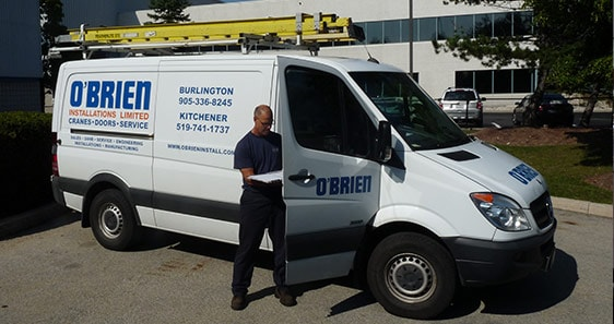 O'Brien Lifting Solutions Service